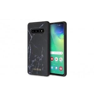 Guess Marmor Hard Case / Hülle für Samsung Galaxy S10 Schwarz