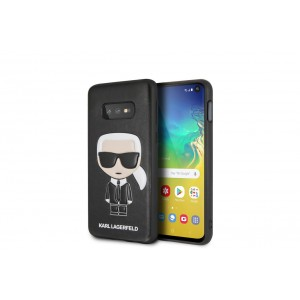 Karl Lagerfeld Iconic Hülle / Cover Samsung Galaxy S10e Schwarz