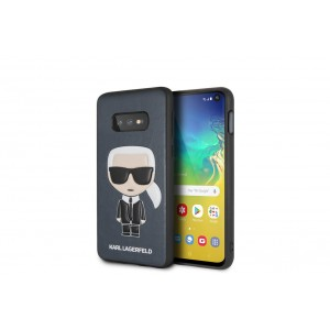 Karl Lagerfeld Iconic Hülle / Cover Samsung Galaxy S10e Blau