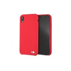 BMW M Collection Silikon Cover / Hülle für iPhone XR Rot