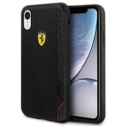 Ferrari On Track Bi-Material Cover / Hülle iPhone XR Schwarz