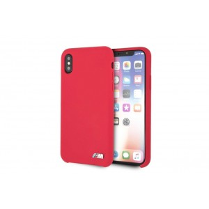 BMW M Serie Silikon Cover / Hülle für iPhone Xs Max Rot