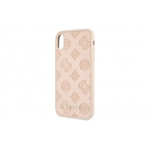 Guess Debossed Hülle iPhone X / Xs Beige