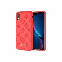 Guess Peony 4G Hülle für iPhone XR Rot