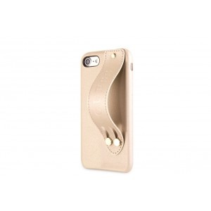 Guess Saffiano Strap iPhone 8 / 7 Hülle Gold