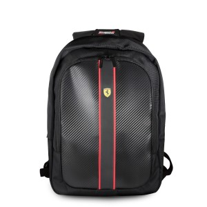 "Ferrari Laptop / Notebook Rucksack On Track Scuderia 15"" schwarz"