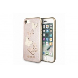Guess Studs and Sparkles Hardcover / Hülle für Apple iPhone 8 / 7 Rose