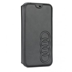 Audi Ledertasche / Book Case iPhone XS / X TT Serie Sythetic Schwarz