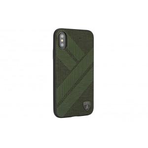 Lamborghini Structure Case / Hülle für iPhone XS Max Grün