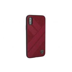 Lamborghini Structure Case / Hülle für iPhone XS Max Rot