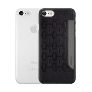 Ozaki O!Coat 0.3 Jelly + Pocket Case I Apple iPhone 8 / 7 I Schwarz / Transparent