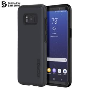 Incipio DualPro Schutzhülle | Samsung Galaxy S8+ Plus | dunkelgrau / schwarz