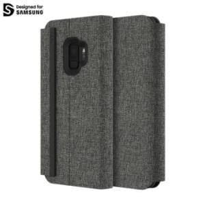 Incipio Esquire Series Carnaby Folio Case | Samsung Galaxy S9 | grau