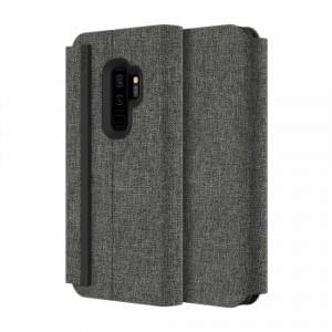 Incipio Esquire Series Carnaby Folio Case | Samsung Galaxy S9+ Plus | Grau