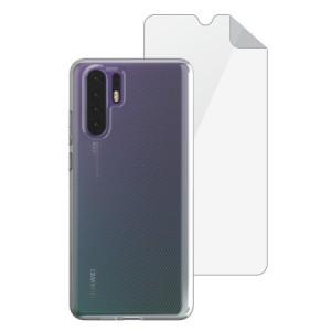 Skech Matrix SE Hülle + Displayschutzfolie Huawei P30 Pro Transparent