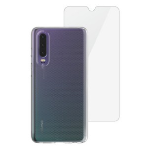 Skech Matrix SE Hülle + Glass Protector Huawei P30 Transparent