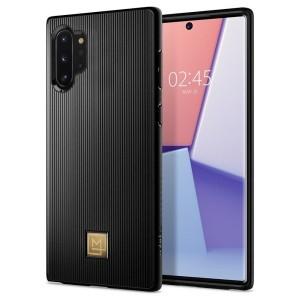 SPIGEN La Manon Classy Hülle Samsung Note 10+ Plus Schwarz