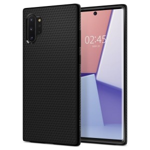 SPIGEN Liquid Air Hülle Samsung Note 10+ Plus Schwarz