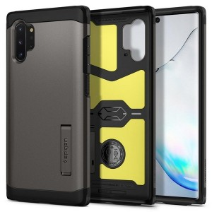 SPIGEN Tough Armor Hülle Samsung Note 10+ Plus Gunmetal