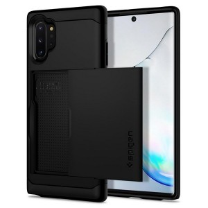 SPIGEN Slim Armor CS Case Hülle Samsung Note 10+ Plus Schwarz