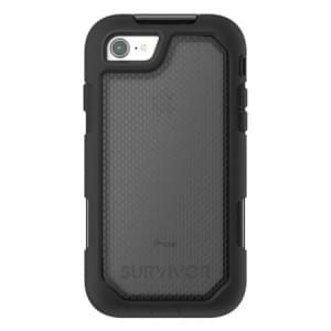 Griffin Survivor Extreme Case I Apple iPhone 8 / 7 I Schwarz / Transparent