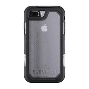 Griffin Survivor Extreme Case I Apple iPhone 8 Plus / 7 Plus I Schwarz / Transparent