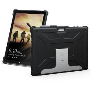 Urban Armor Gear Case Schutzhülle für Microsoft Surface Pro 2017 / Pro 4 / Pro 6 Schwarz