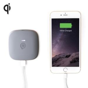 Zens Portable Power Pack | 5200mAh | Qi | grau