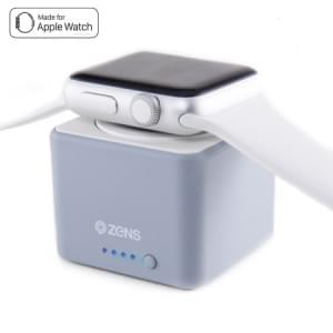Zens Apple Watch Power Bank | Apple Watch Series 1 / 2 / 3 / 4 | 1300mAh | grau