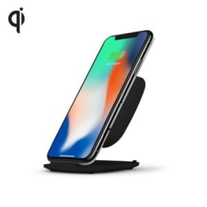 Zens Ultra Fast Wireless Charger Stand 10W | Qi | schwarz