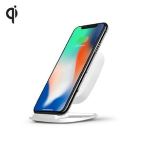 Zens Ultra Fast Wireless Charger Stand 10W | Qi | weiß