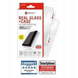 Displex Full Body Schutz Panzerglas + Hülle Samsung Galaxy S10e Transparent