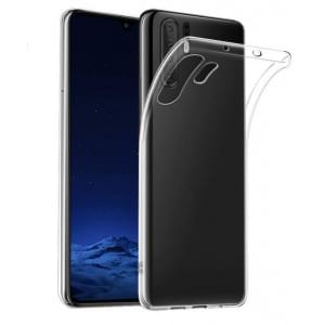 Schutzhülle / Handyhülle für Huawei P30 Pro voll transparent