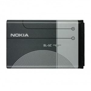 Original Nokia - BL-5C - Li-Ion Akku - 3120 - 1020mAh