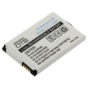 Ersatzakku BT60 für Motorola A910 / C975 / C980 /E770v / E1000 / E1070 / V235 / V360 / V975 / V980 / V1050 / V1070 / Flipout / MOTO Q