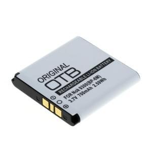 Ersatzakku BP-6M für Nokia 3250 / 3250 XpressMusic / 6151 / 6233 / 6280 / 6288 / 9300 / 9300i / N73 / N73 Music Edition / N93
