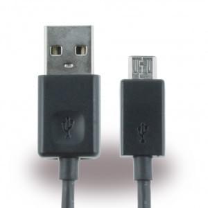 Original LG - DK-100M - Ladekabel / Datenkabel - Micro USB - 100cm -  Schwarz
