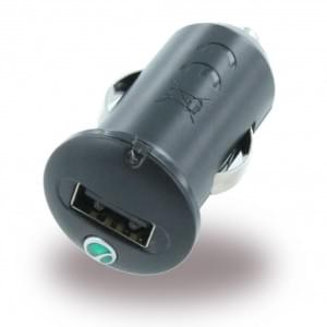 Sony Ericsson - AN401 - KFZ-Ladekabel / Ladegerät - Micro USB - Schwarz - 1200mAh