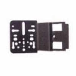 Universal Montagewinkel für Radioschacht 30mm ca. 30 mm Ausladung - Gerade für DIN-Radioschacht