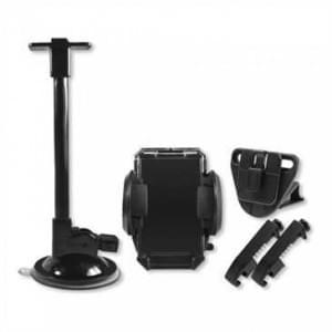 XiRRiX KFZ Schwanenhals + Universalhalter mit Saugfuß & Lüftungsbefestigung für Geräte von 35-105 mm