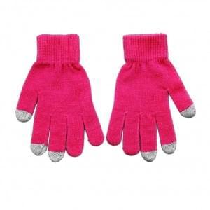 Universal Touchscreen Handschuhe - Größe: M bis L - Pink