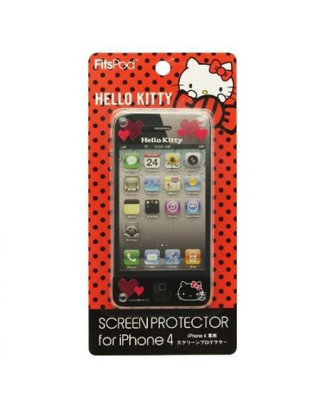 Hello-Kitty - Displayschutzfolie - Apple iPhone 4, 4S - Type A