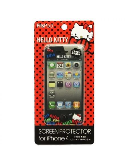 Hello-Kitty - Displayschutzfolie - Apple iPhone 4, 4S - Type B