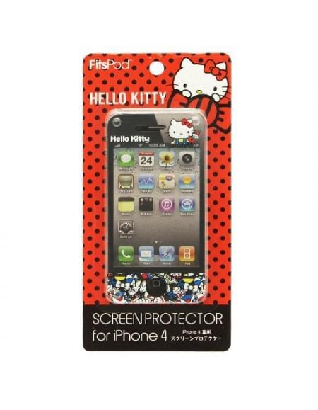 Hello-Kitty - Displayschutzfolie - Apple iPhone 4, 4S - Type C