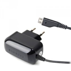 Samsung - ETA3U30EBE - Netzteil/Ladekabel/Ladegerät - Micro USB - Schwarz - 550mA