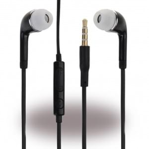 Original Samsung - EHS64ASFBE -  Stereo Headset - 3,5mm Anschluss > Schwarz