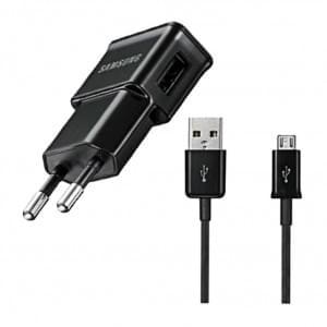 Samsung - ETA0U80E / ETA0U81E - Netzteil/Ladekabel/Ladegerät - Micro USB - Schwarz - 1000mAh