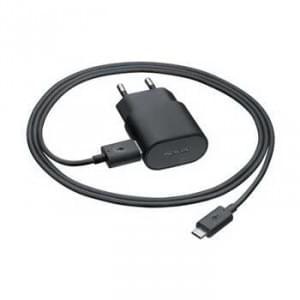 Nokia - AC-50E - Schnelllade Netzteil / Ladekabel / Ladegerät - Micro USB - Schwarz - 1300mAh