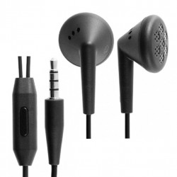 Original BlackBerry ACC-44306-003 Stereo Headset 3.5mm Schwarz