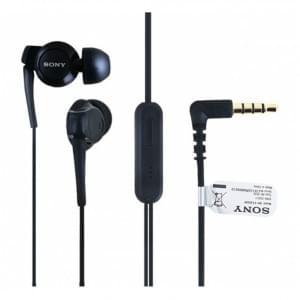Original Sony - MH-EX300AP - Stereo Headset - 3,5mm Anschluss > Schwarz